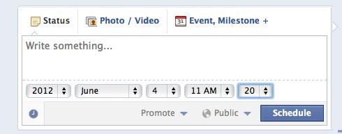 programare postari facebook